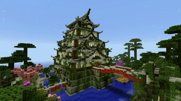 minecraft japanese castle 9