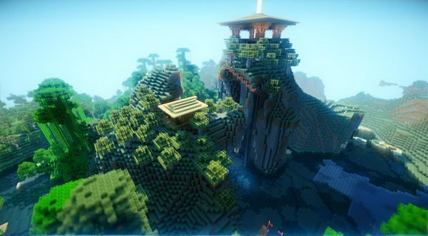 minecraft shrine design 25