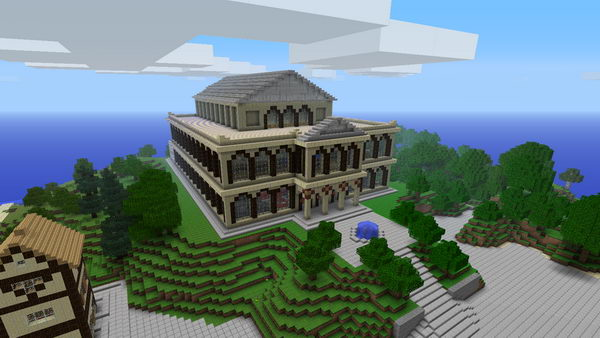 minecraft theater idea 14