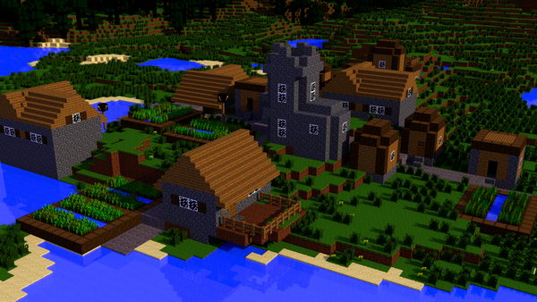 minecraft village design 18
