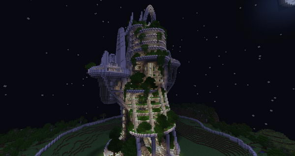 modern tower night idea 51