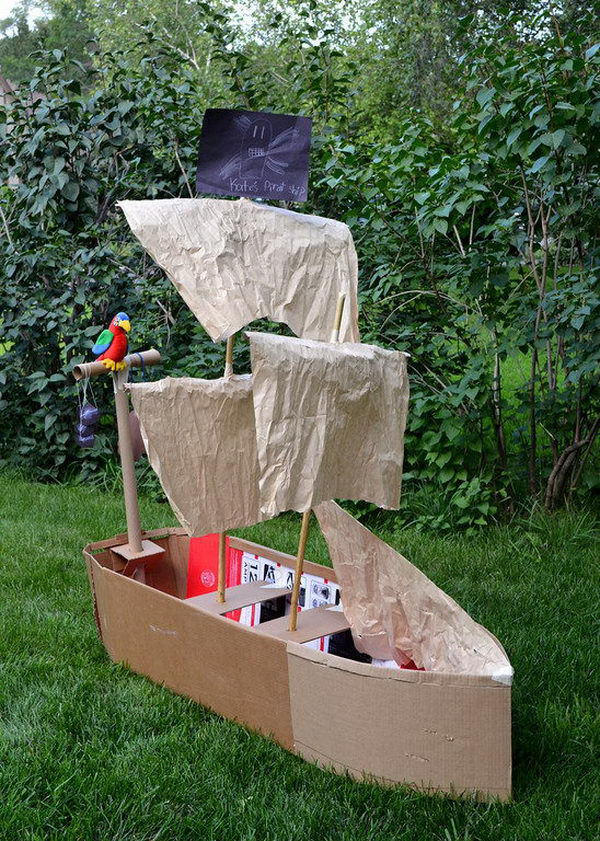 homemade pirate ship 31