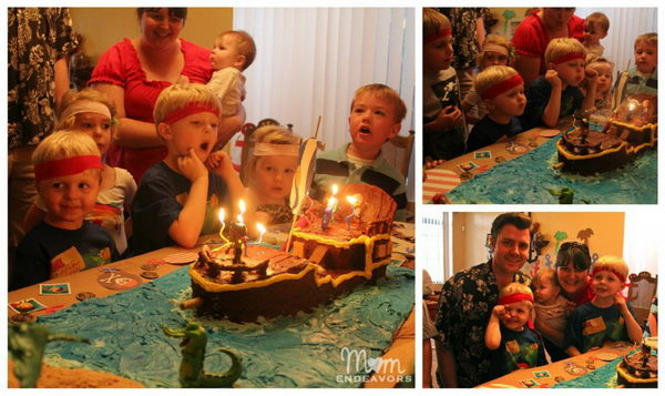 never land pirates style birthday party 3