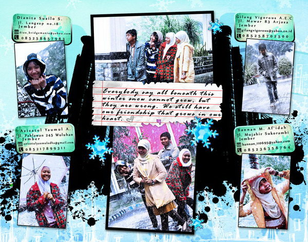 winter in vegas year book design 42