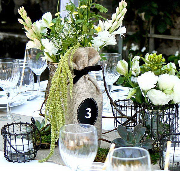 11 rustic wedding centerpiece