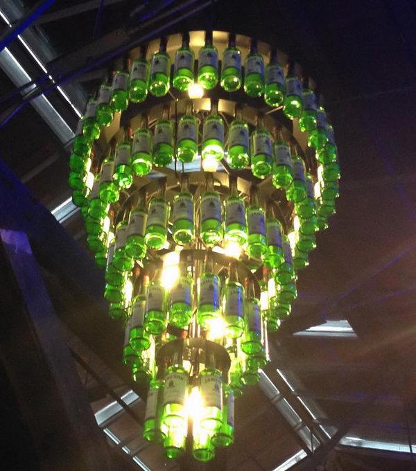 15 homemade chandelier distillery