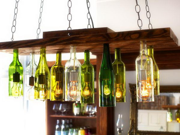 3 tuscan style chandeliers