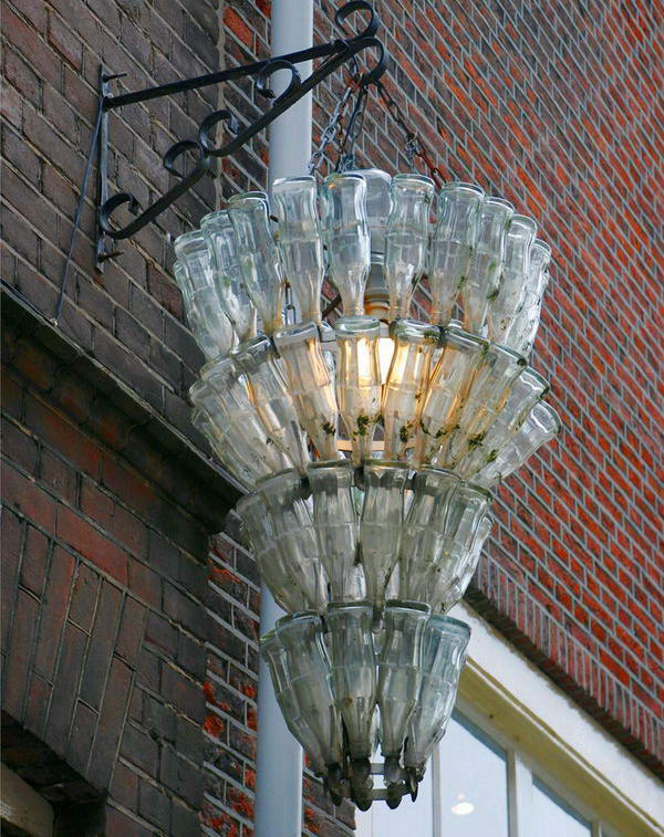 5 homemade recycled chandelier
