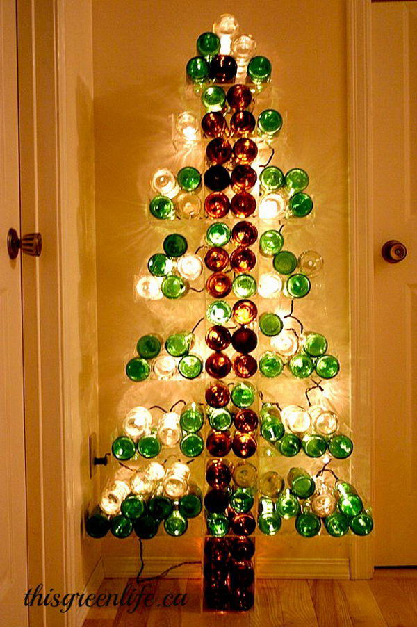 21 wine bottle tree