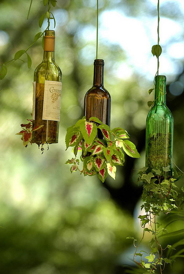 25 diy hanging planters