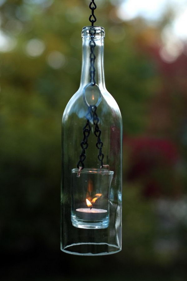 6 homemade hanging lantern