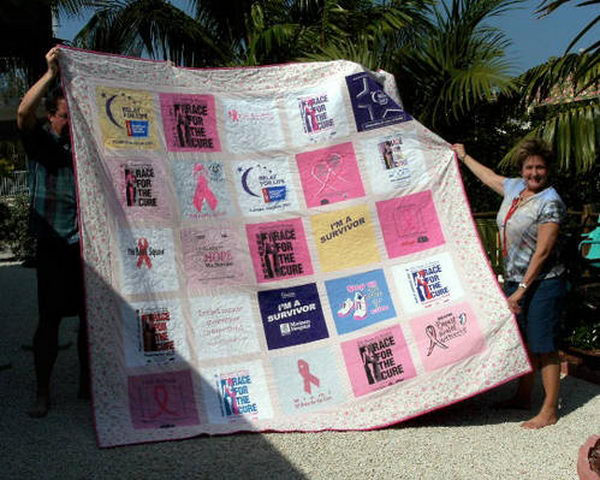 Relay for Life Quilt Fundraising Idea,