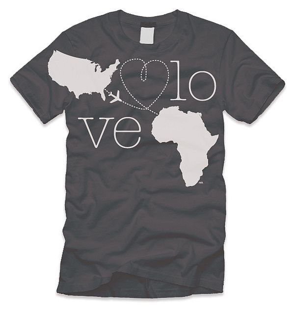 Fundraising T Shirt. The goal is to raise fund for upcoming mission trip to Ethiopia.