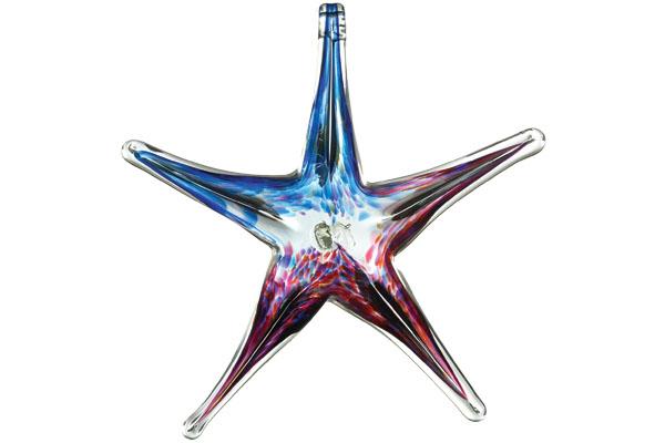 Starfish Kitras Art Glass,