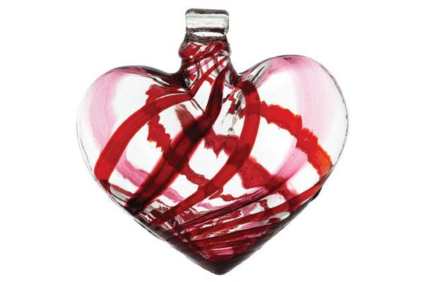 Heart Kitras Art Glass,