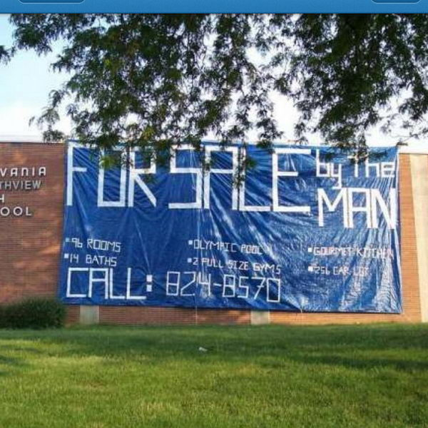 13 sell your school senior prank