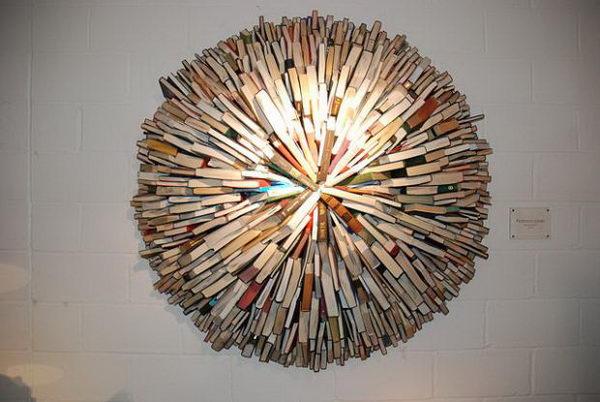 Book Sculpture by Sébastien Magro,