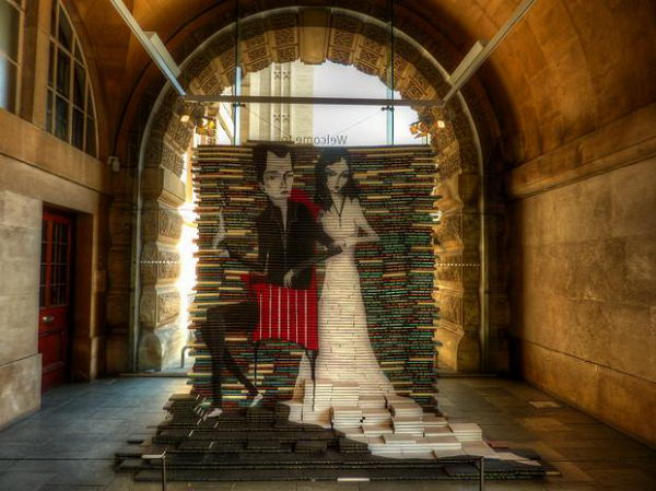 Bristol Museum Book Sculpture,