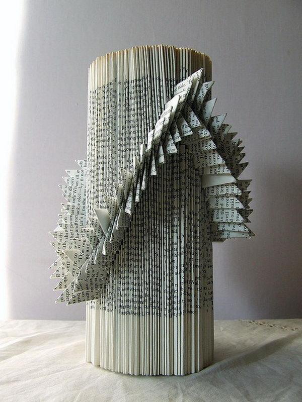 Book Sculptures by liz hamman,