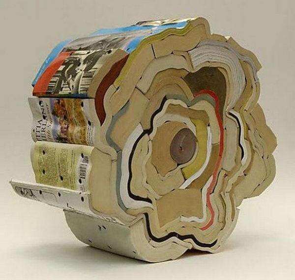 Book Sculptures by Jonathan Callan,