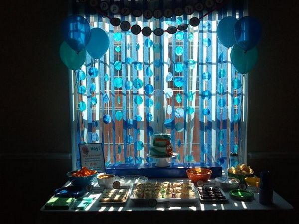 Bubble Guppies Windows Decoration,