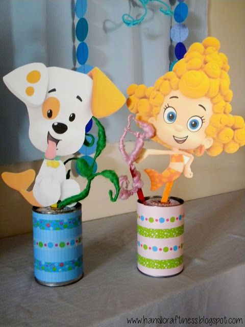 Bubble Guppies DIY Party Decor,