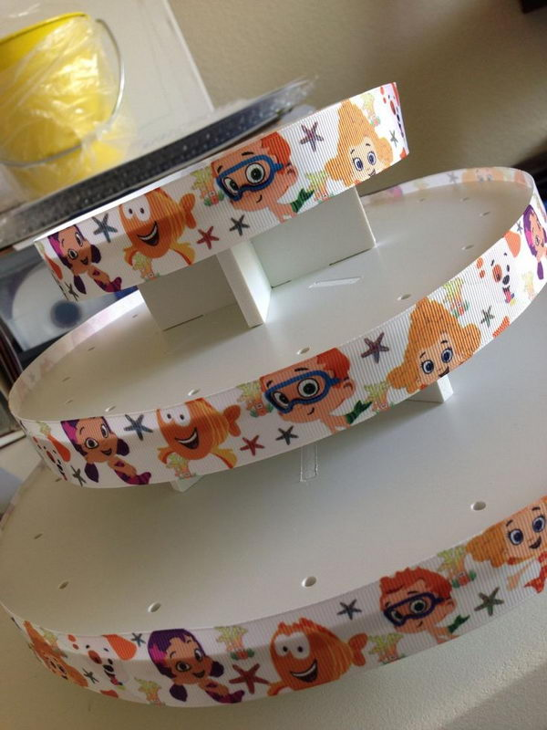 DIY Cake Pop Stand Decor for Bubble Guppies Party,
