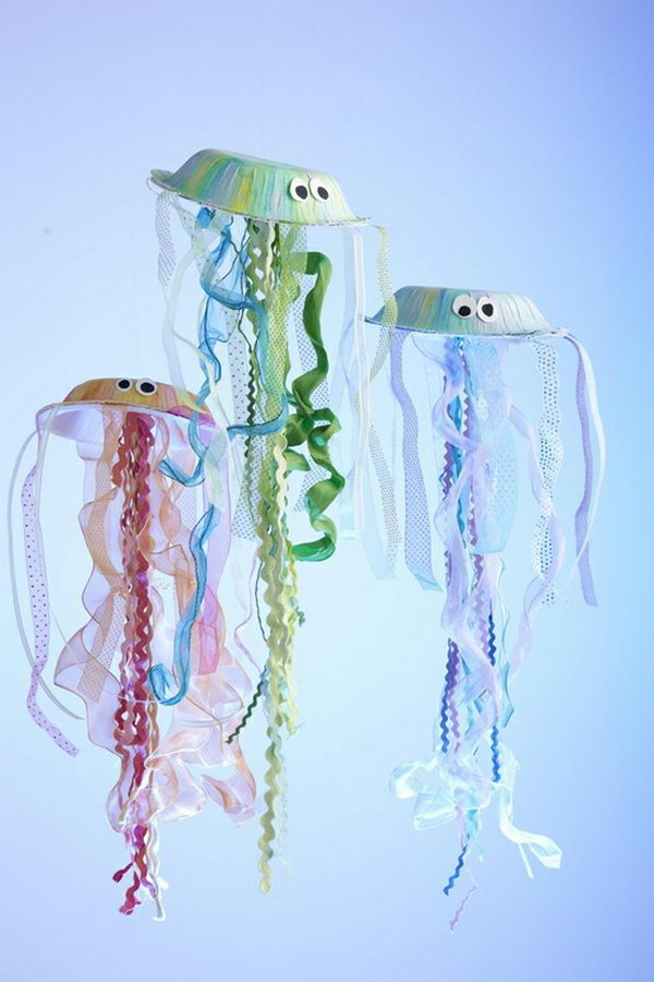 DIY Jellyfish Decoration for Bubble Guppies Party,