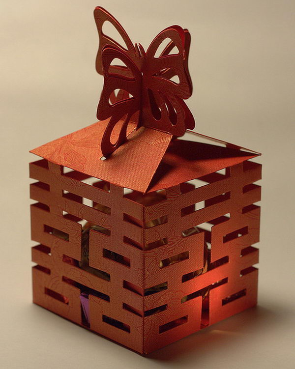 Chinese Wedding Favor Box,
