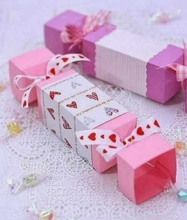 DIY Candy Gift Box,