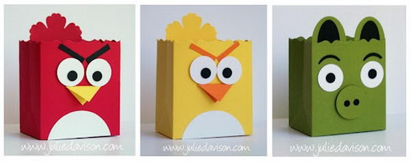 Angry Birds Favor Boxes,