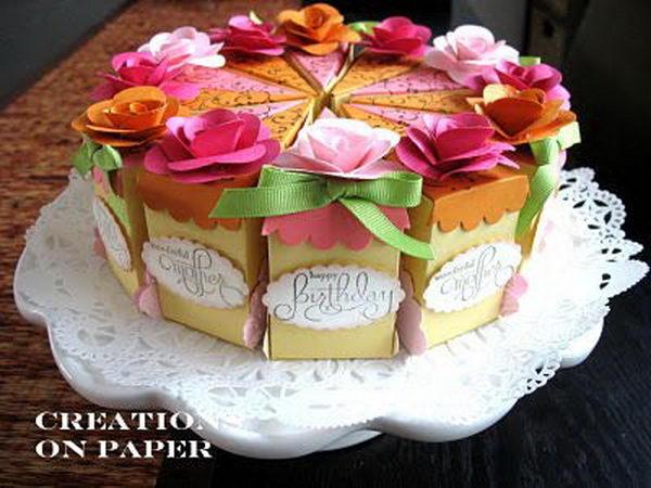 Cake Slice Boxes,