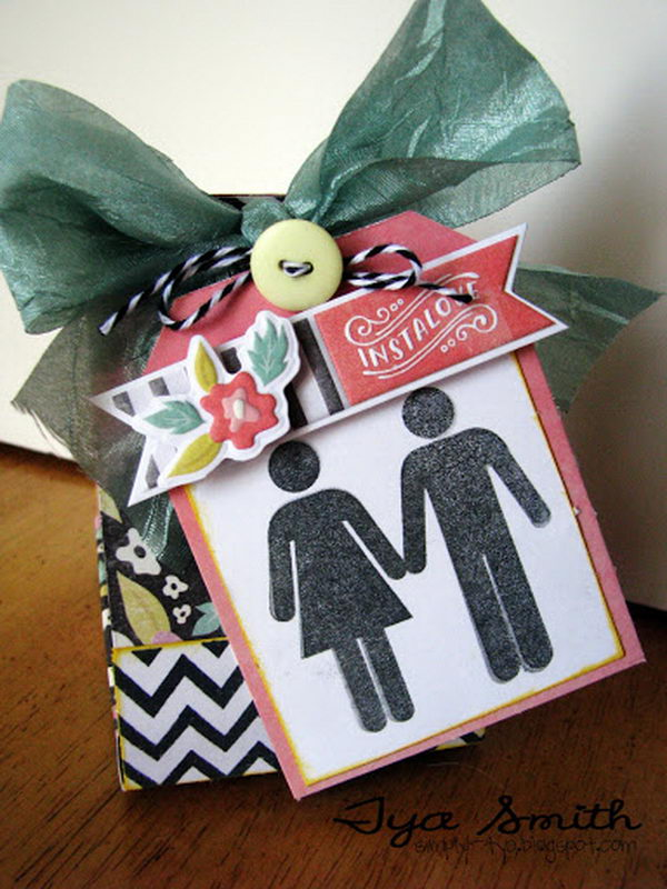 Potty People Wedding Favor Box,