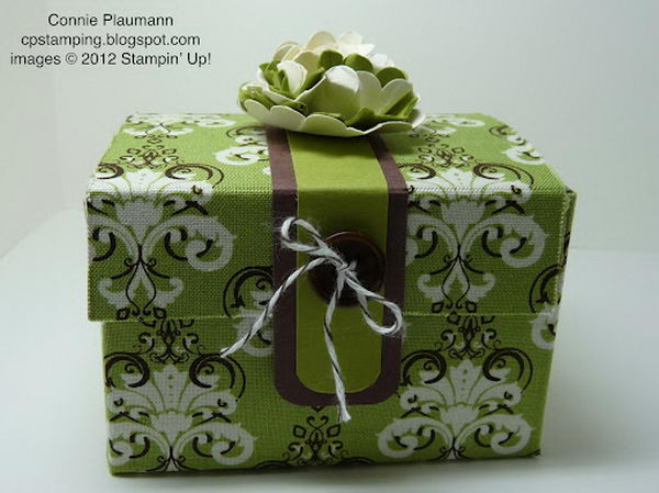 Fabric Treasure Box,