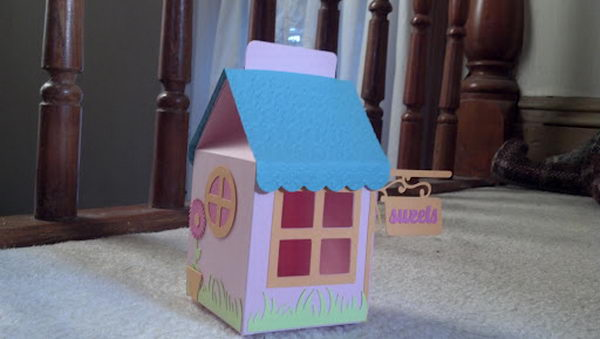 DIY House Favor Box,