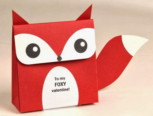Fox Favor Box for Valentine,