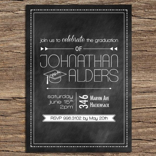 10 creative graduation invitation ideas 2017