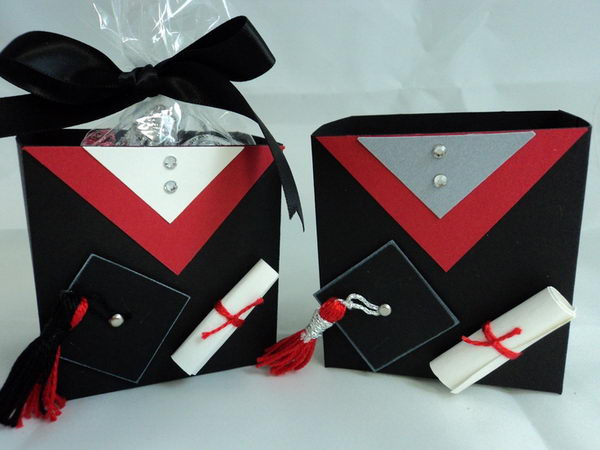 Graduation Favor Box,