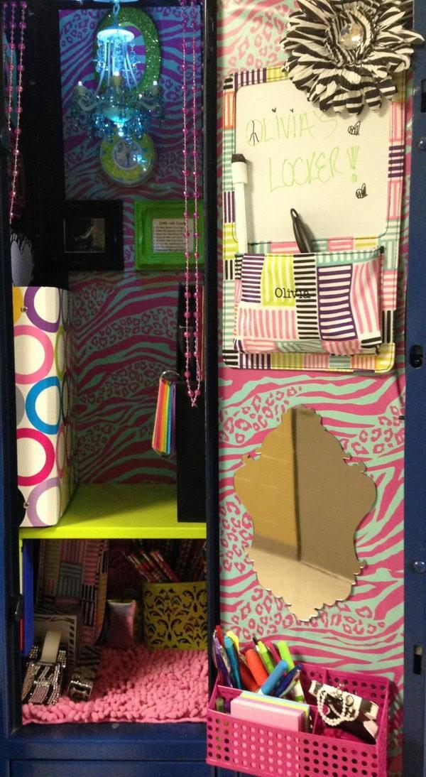 locker decorating ideas - photo #37