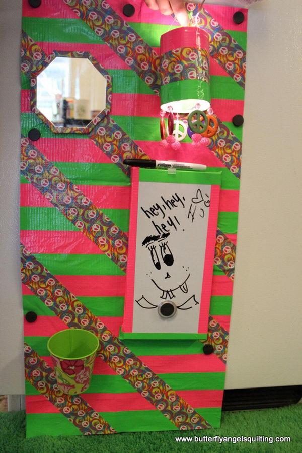 DIY Locker Decorations,