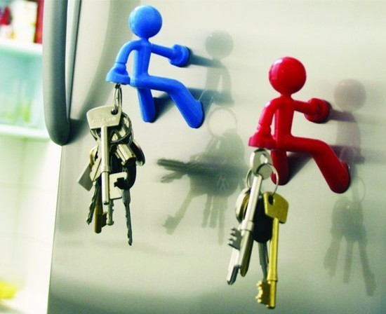 Magnetic Key Holder.