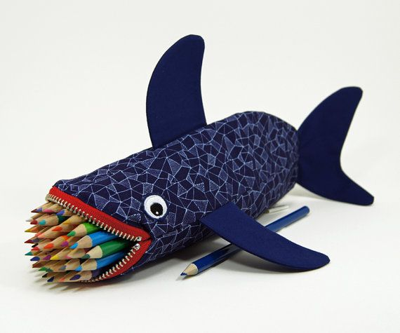 Shark Pencil Case.