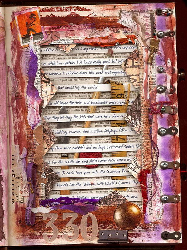 Altered Book Art,