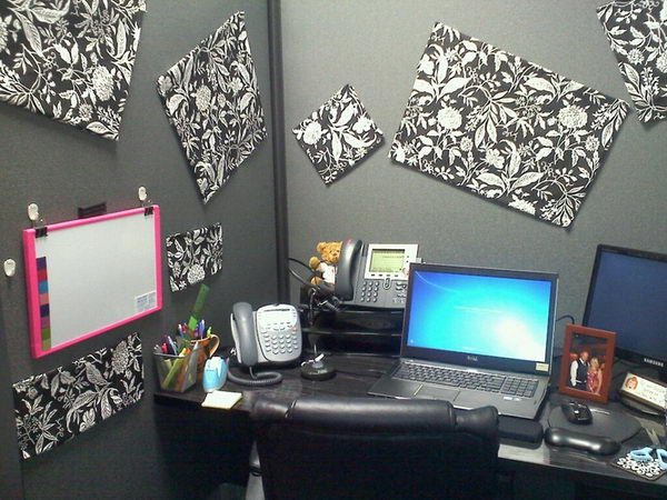 20 creative diy cubicle decorating ideas 2017 for Creative cubicle ideas