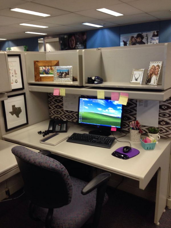 20 creative diy cubicle decorating ideas 2017 - Work office decorating ideas pictures ...