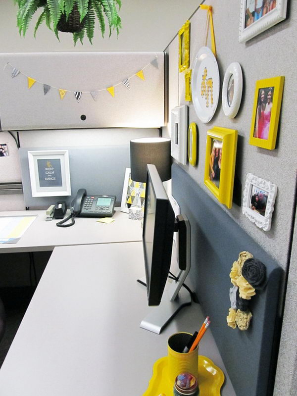 Make your workspace a home away from home.