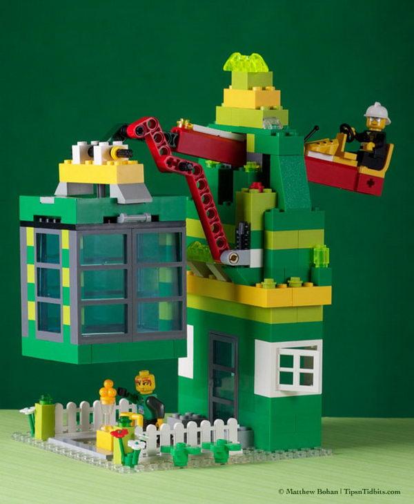 LEGO Leprechaun Trap.