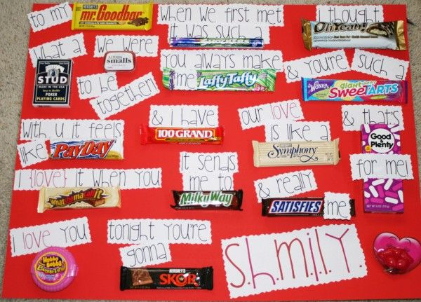 This cute candy bar card will totally help you next time you are creating a card for your honey.