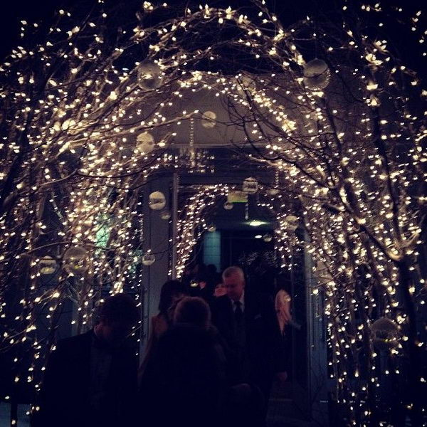 Fairy Lights Wedding Arch,
