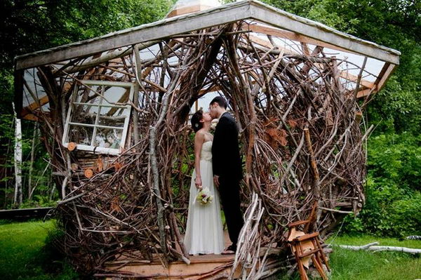 Unique Wedding Arch,